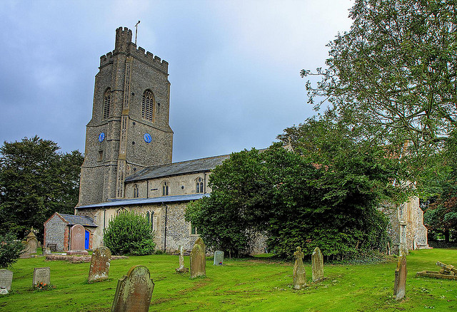 The Church of St Andrew & St Mary.