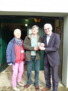 Norman Lamb MP at Langham Dome